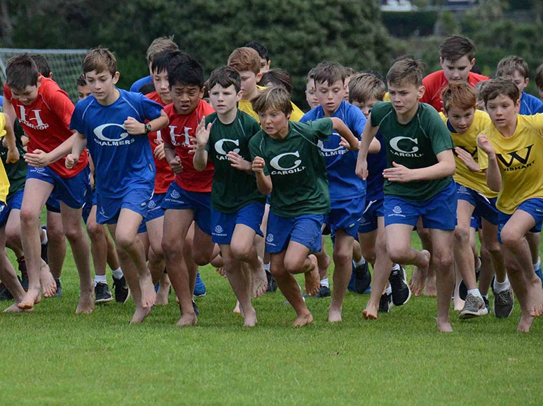 Boys' School Middle and Senior Cross Country