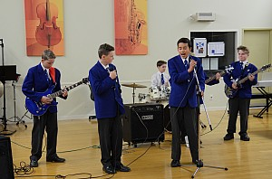 College Middle School Music Evening 2015