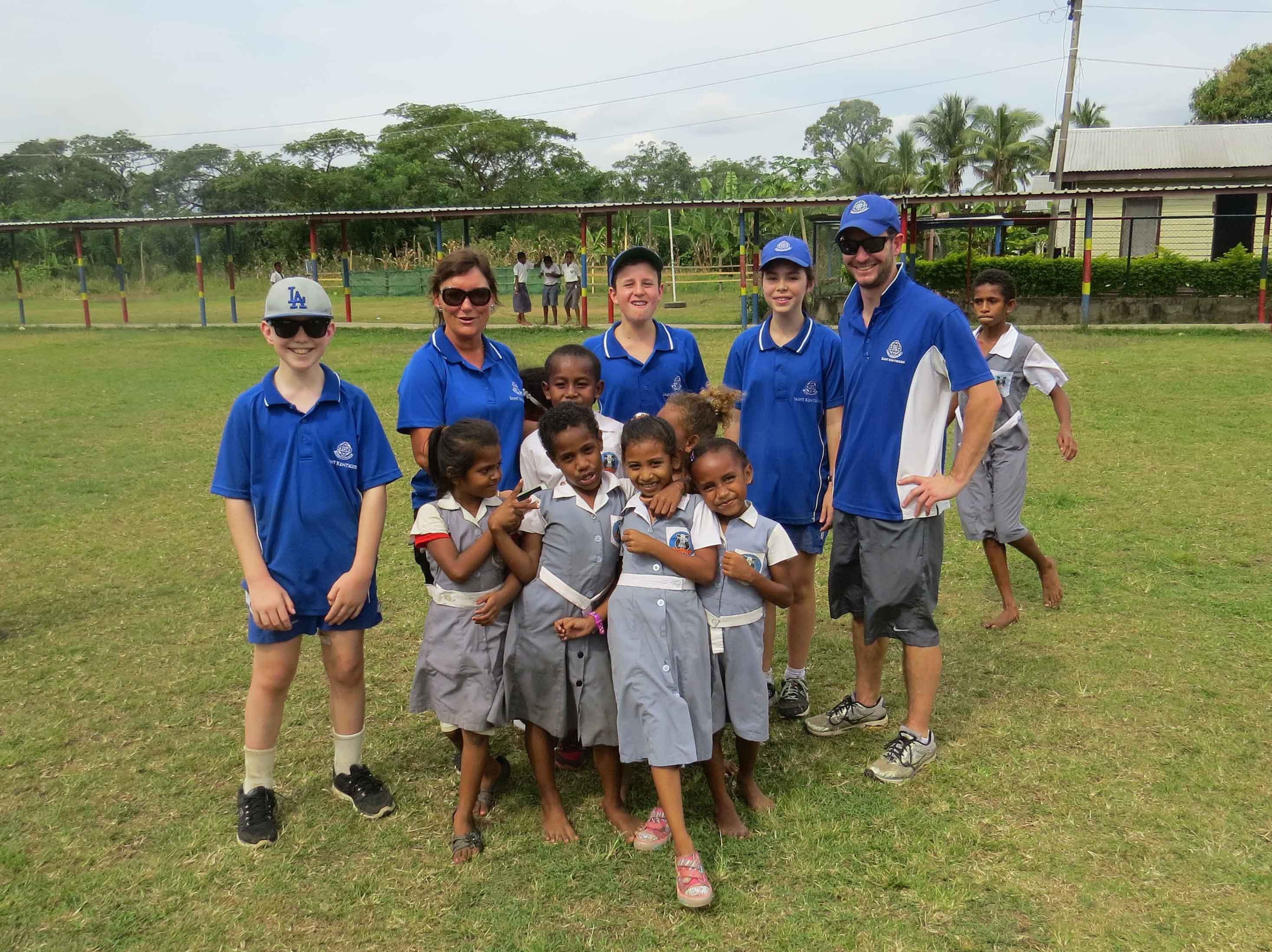 Boys' and Girls' Schools and Preschool Service Trip to Fiji