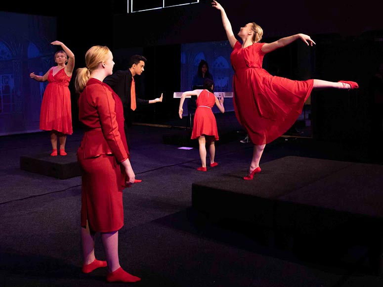 Senior College Drama Production 'The Red Shoes'