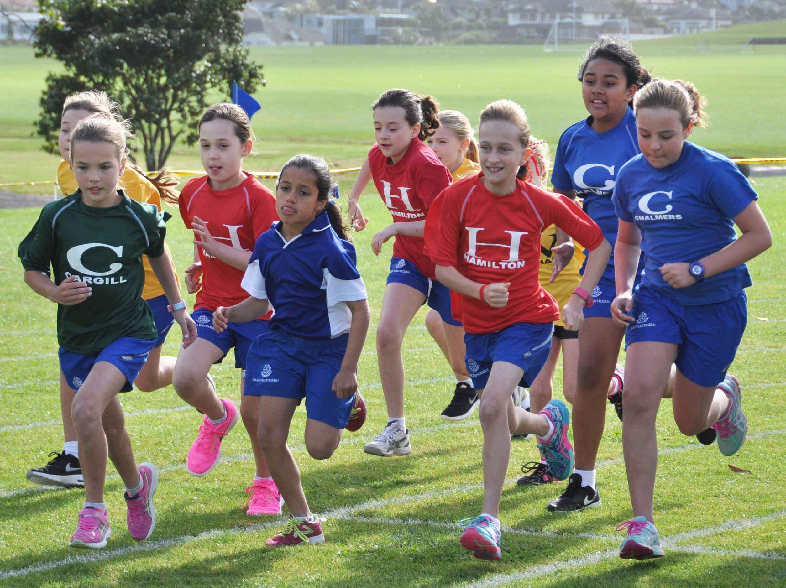Girls' School Athletics 2016