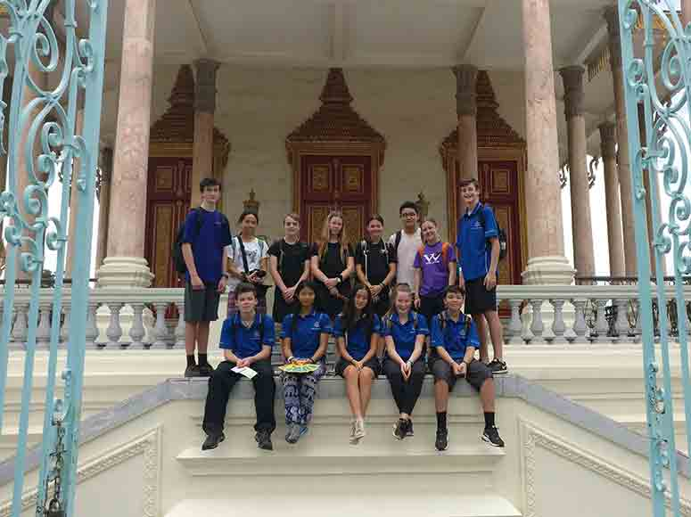 Middle College Tour To Cambodia 2019