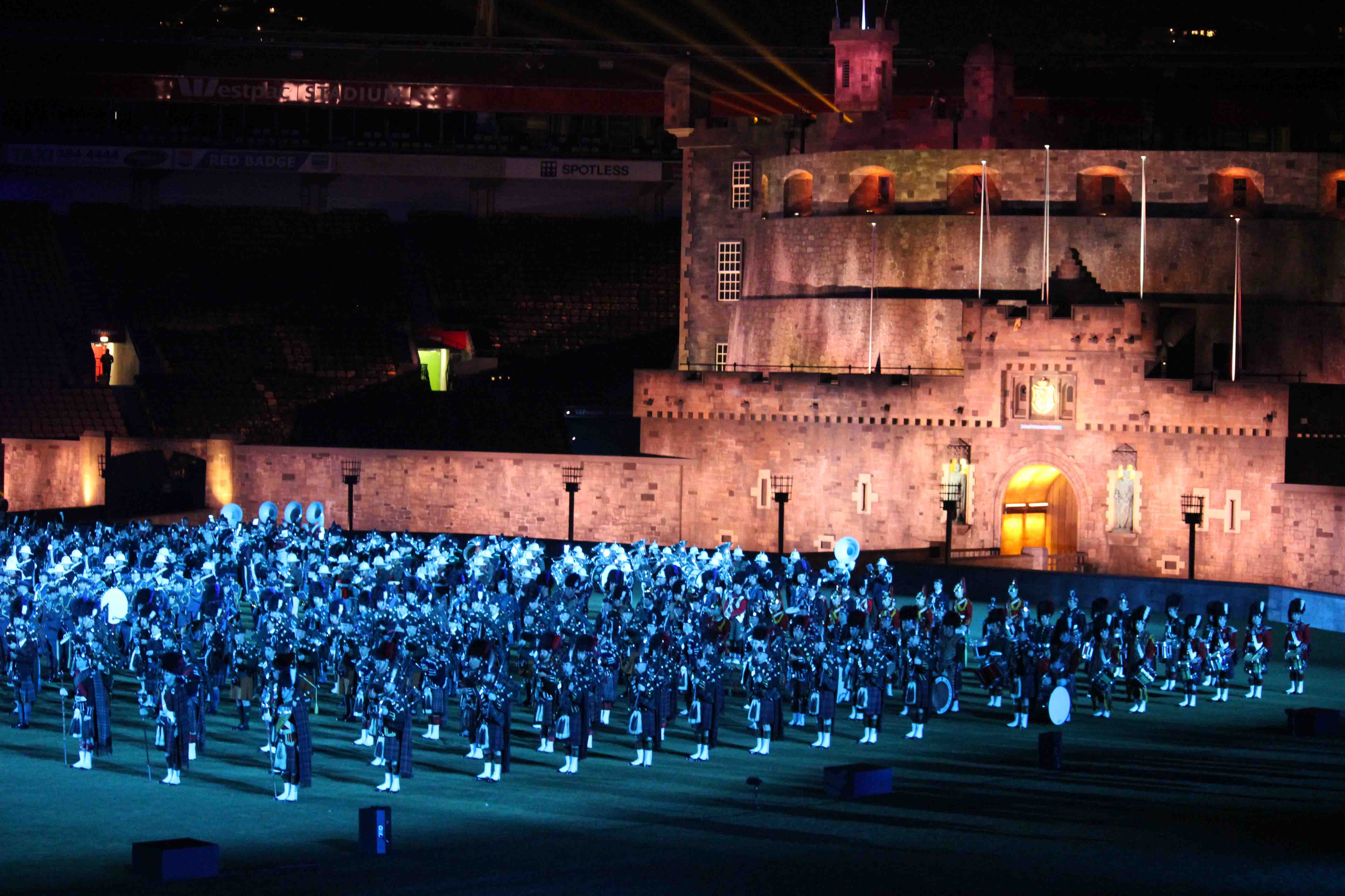 Saint kentigern the royal edinburgh military tattoo 2016 for Royal edinburgh military tattoo