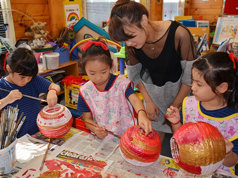Junior Girls Celebrate Chinese New Year