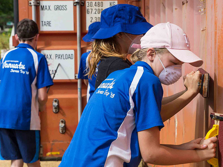 Boys' School and Girls' School Vanuatu Service Trip 2018