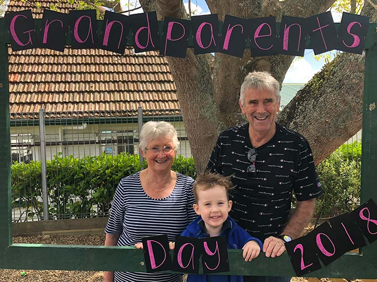 Preschool Grandparents' Day 2018