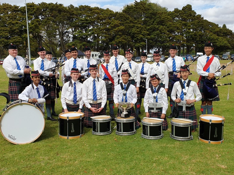 Great Start To The Year For Pipes & Drums