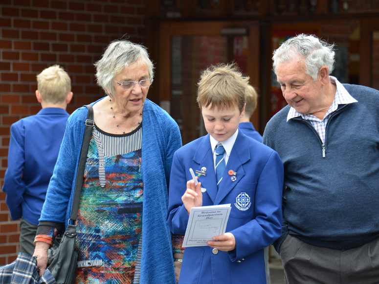 Boys' School Grandparents Morning 2015