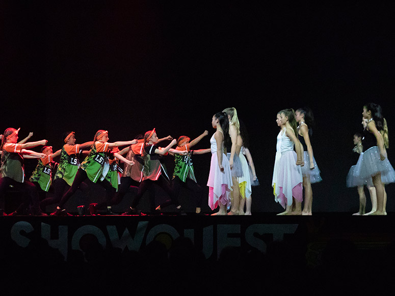 Best soundtrack award for Girls' School at the Showquest