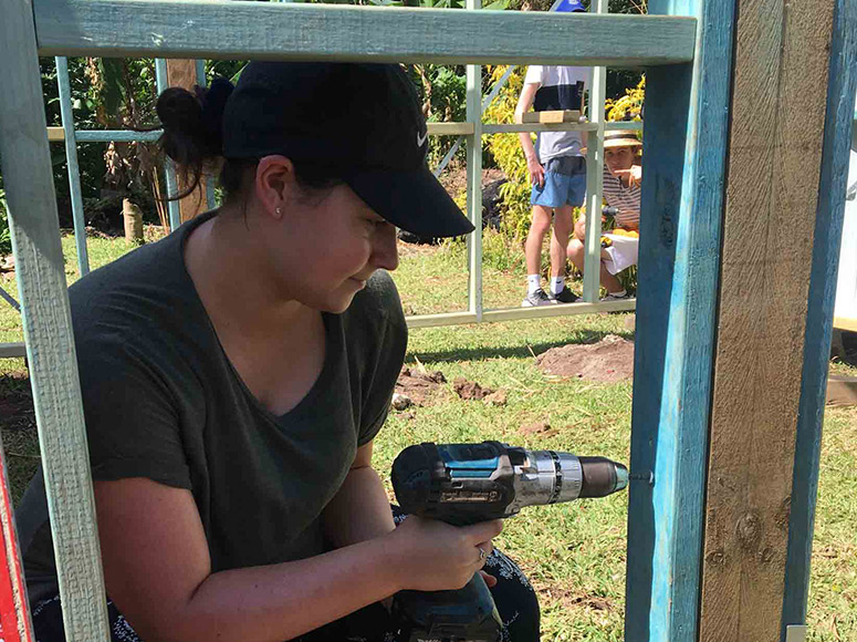 Year 13 House Building Service Trip to Vanuatu 2018
