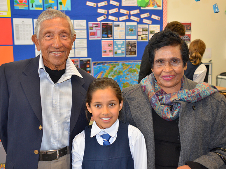 Girls' School Grandparents Day 2016