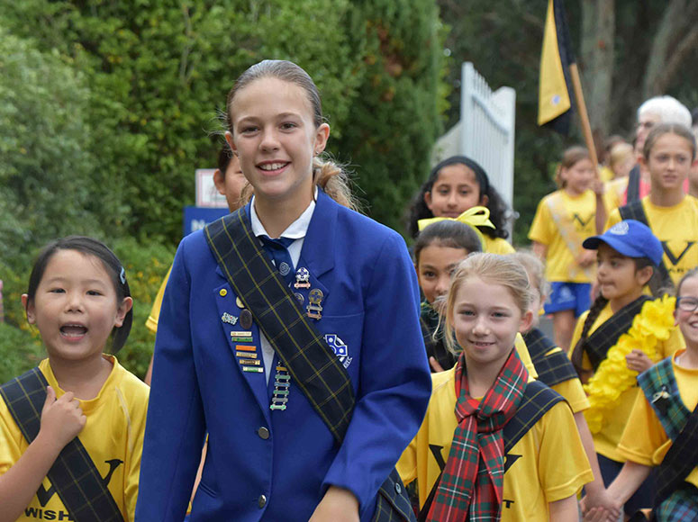 Girls' School Celebrate Their Scottish Heritage