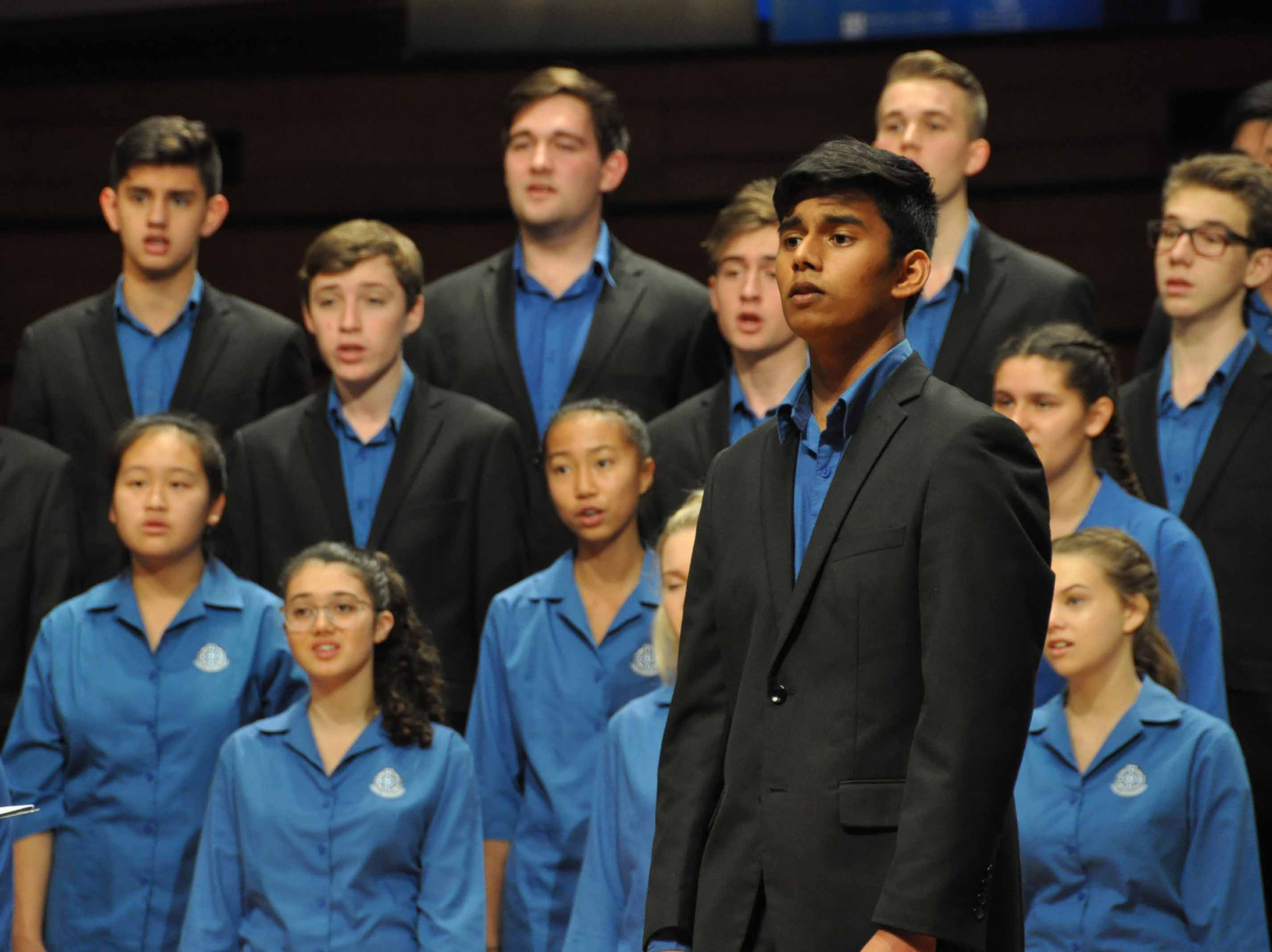Double Finale Selection for College Choirs