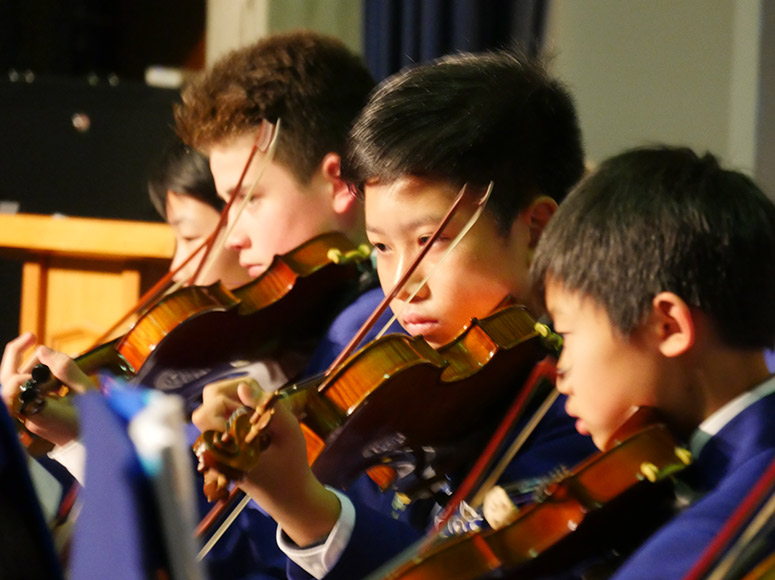 Boys' School Music Extravaganza Evening