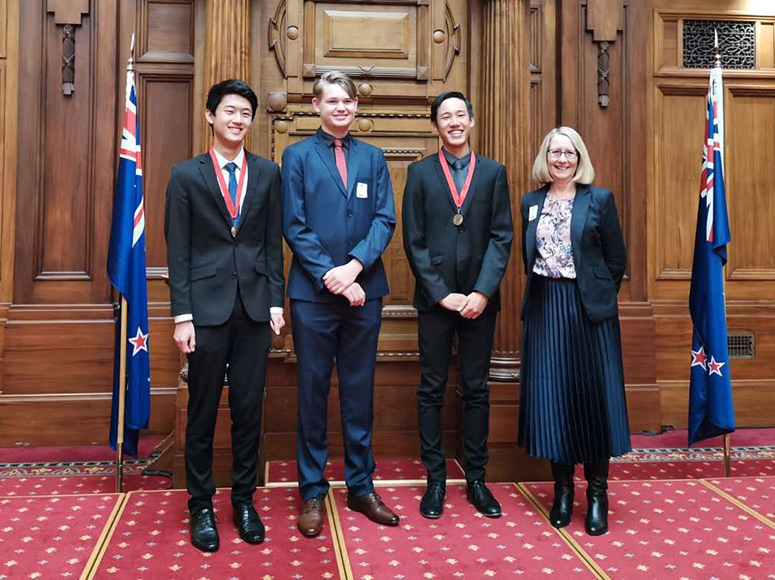Top Scholars Congratulated at Parliament