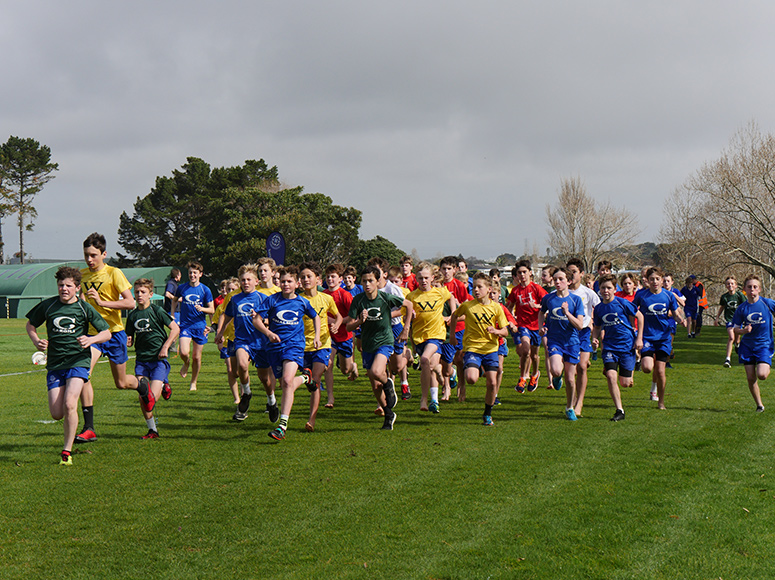 Boys' School Years 4-8 Cross Country