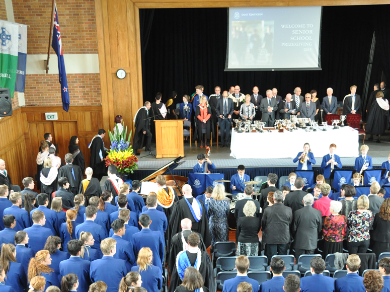 College Senior School Prizegiving 2015