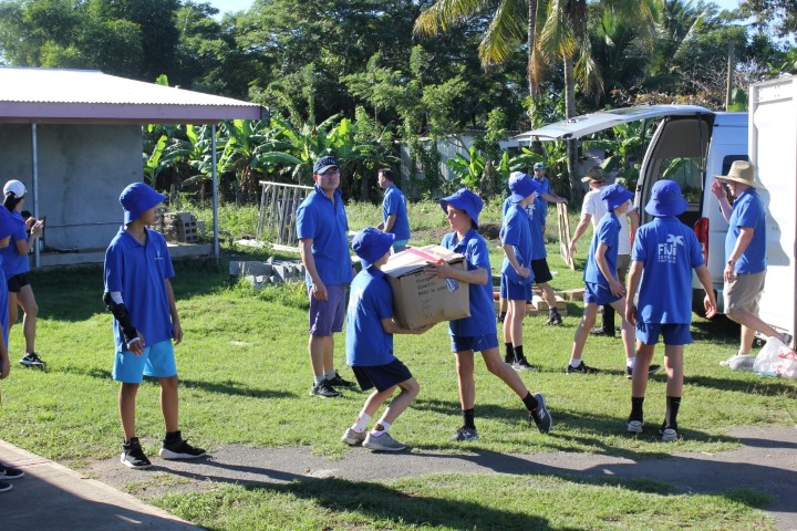 Boys' and Girls' School Service Trip Fiji 2019